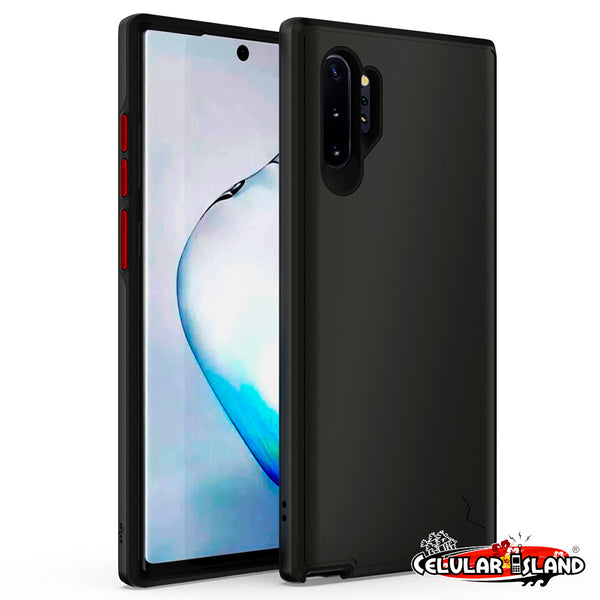 CASE ZIZO DIVISION PARA SAMSUNG GALAXY NOTE 10 y 10 PLUS - DUAL LAYERED AND SHOCKPROOF PROTECTION