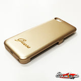 POWER CASE GUESS DORADO PARA IPHONE 5-5S