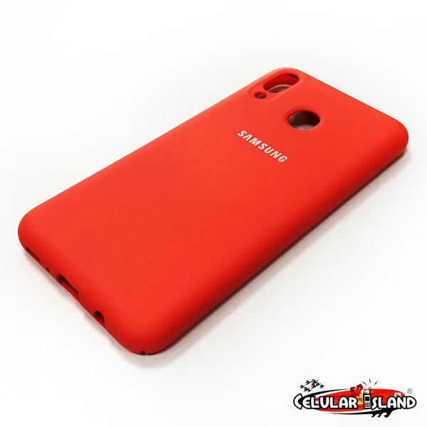 PROTECTOR DE SILICÓN SILKY AND SOFT-TOUCH FINISH PARA SAMSUNG GALAXY M20