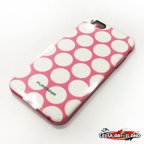 PROTECTOR SLIM SHELL MOTIF LUNARES PARA IPHONE 6 PLUS