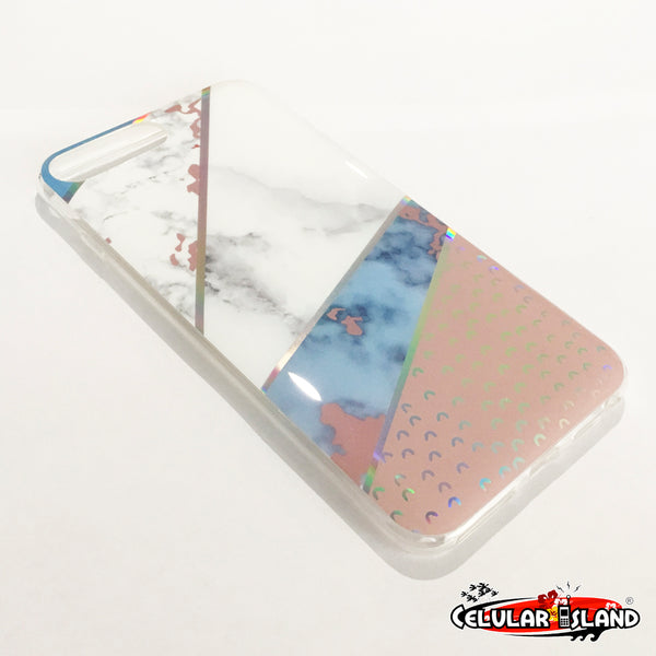 PROTECTOR MARBLE COMPATIBLE CON IPHONE 8 PLUS, 7 PLUS, 6 PLUS