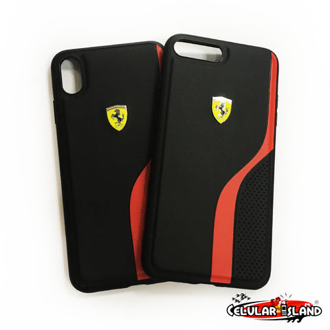 CASE FERRARI ON TRACK PARA IPHONE 7 PLUS, 8 PLUS y XS MAX