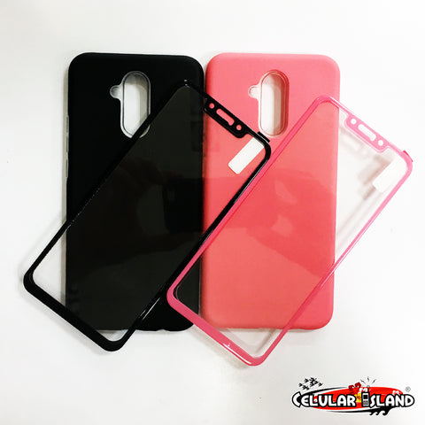 FUNDA LISA CON GLASS PARA HUAWEI MATE 20 LITE