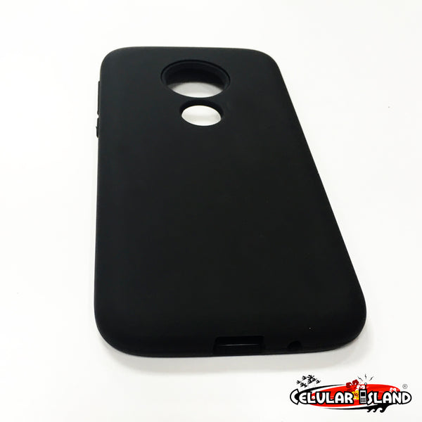 FUNDA LISA CON MICA INCLUIDA PARA MOTO G7 PLAY