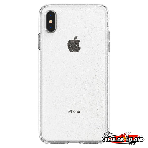 LIQUID CRYSTAL GLITTER CASE PARA IPHONE XS MAX