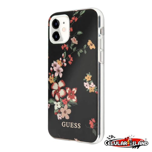 PROTECTOR GUESS FLORAL PARA IPHONE 11