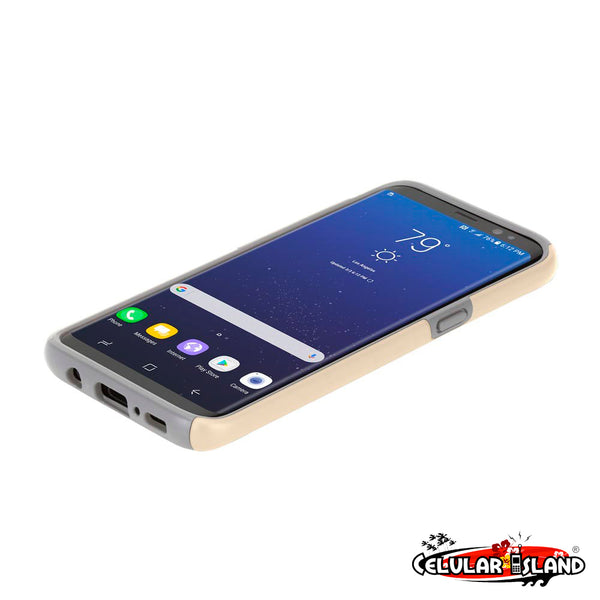 DUALPRO THE ORIGINAL DUAL LAYER PROTECTIVE CASE PARA SAMSUNG GALAXY S8 - Marca Incipio