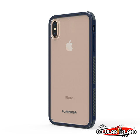 CASE DUALTEK CLEAR AZUL PARA IPHONE XS MAX