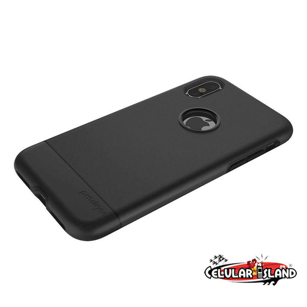 Case Fit Color negro iPhone X