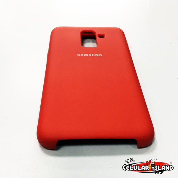 PROTECTOR DE SILICÓN SILKY AND SOFT-TOUCH FINISH PARA SAMSUNG GALAXY A6 PLUS y J8