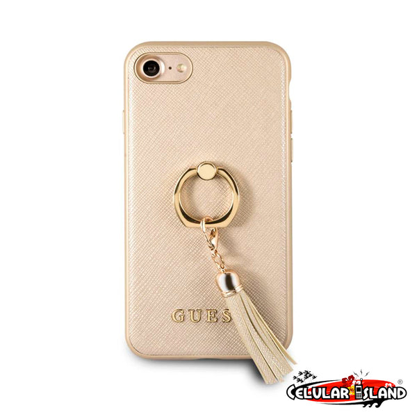PROTECTOR GUESS RING STAND PARA IPHONE 8/7/6