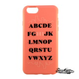 Funda AGENT 18 iPhone 6s/6 Alfabeto