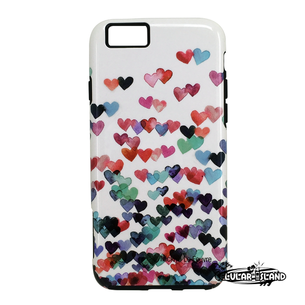 Funda ARTSCASE StrongFit iPhone 6/6s Corazones