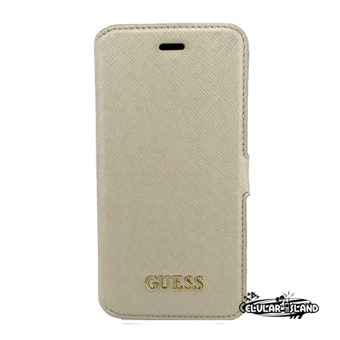 GUESS Funda Flip BEIGE iPhone 6/6S