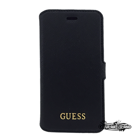GUESS Funda Flip Negro IPhone 6/6S