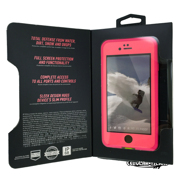 Funda LIFEPROOF  iPhone 6/6S Negra
