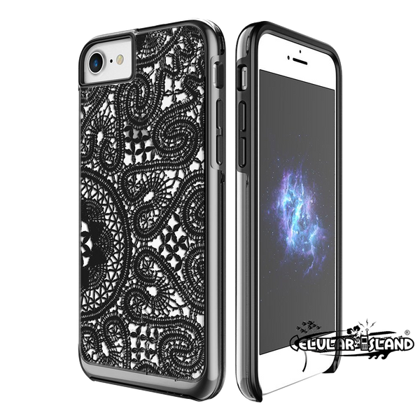 Protector Show Lace iPhone 7 Negro