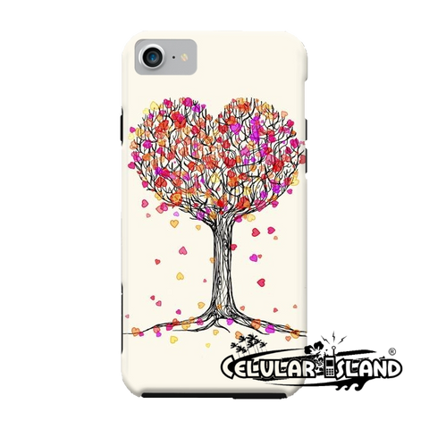 CARATULA LOVE IN THE HEART TREE IPHONE 7