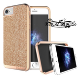 Caratula Sparkle Rosa Gold iPhone 7
