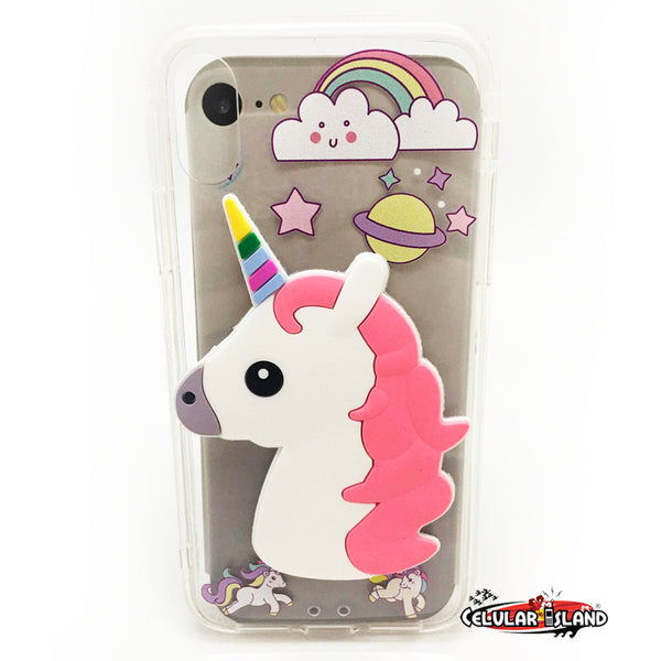 Funda Unicornio iPhone X