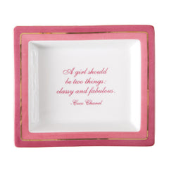 Sayings Trinket Tray