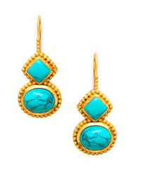 Sienna Turquoise Earrings
