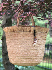 Frayed Top Tote