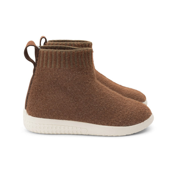 Cinnamon Warm Knit Boot Voyageur Heyfolks