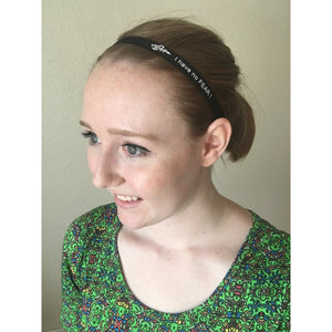 Fear0 Non-Slip Black White Sport Headbands for Women/Kid - Fear0