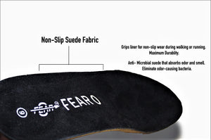 All in One Heavy Duty Cushioning Insoles - Full Length Orthotic Orthopedic Inserts with Arch Support for Plantar Fasciitis, Flat Feet - Fear0