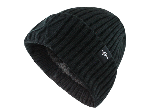 Fear0 Extreme Warm Black Cuff Winter Sport Skullies Watch Cap Beanie Hat Men Women - Fear0