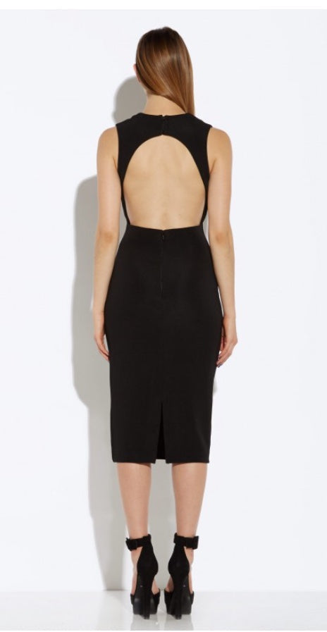 AQ/AQ vine midi dress