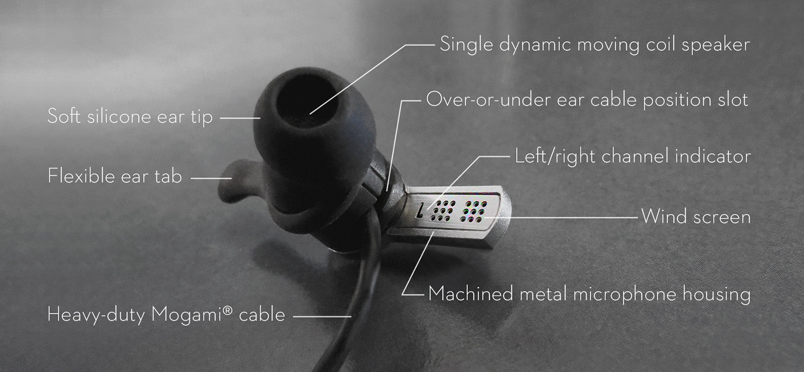 SC1000 earbud headphone parts