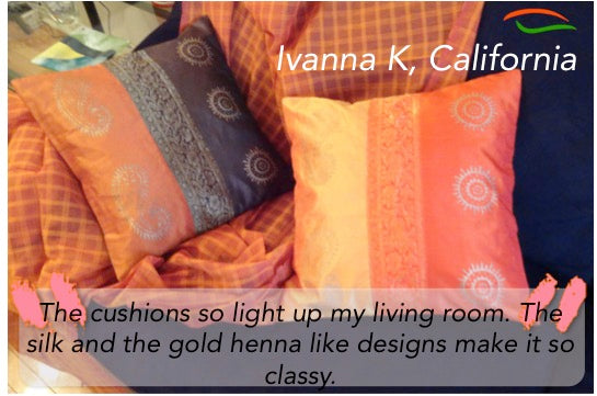 silk sofa cushion covers from india artikrti customer review