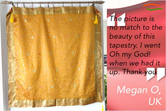 silk wall hanging tapestry artikrti customer review