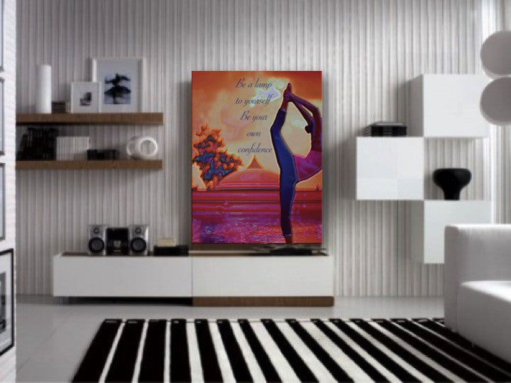 Buddha Art For The Home Home Decor Painting Yoga Wall Hanging