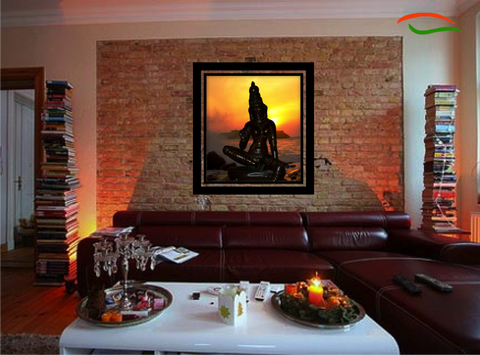 Wall art poster art photo digital painting inner divinity 30 x 27 artikrti Home decor paintings for sale india