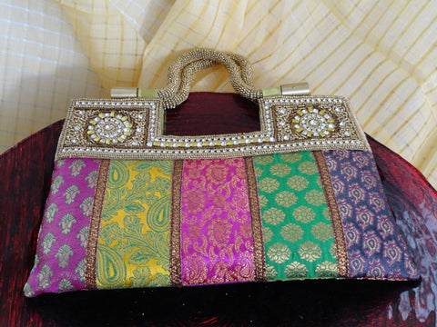Bollywood indian clutch purse handbag for parties1