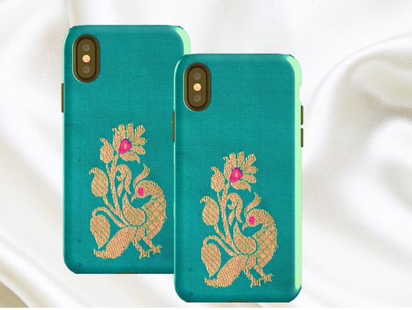 Gold Peacock iPhone X case. Green   gold. Unique 8bf9a8238b