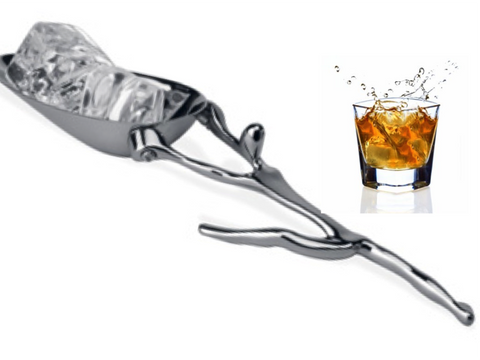 Ice bucket spoon. Ice scoop for your bar. Ice tongs. Barware. Bar Accessory. Designer bar ice scoop. Ice bucket scoop or spoon. From Artikrti