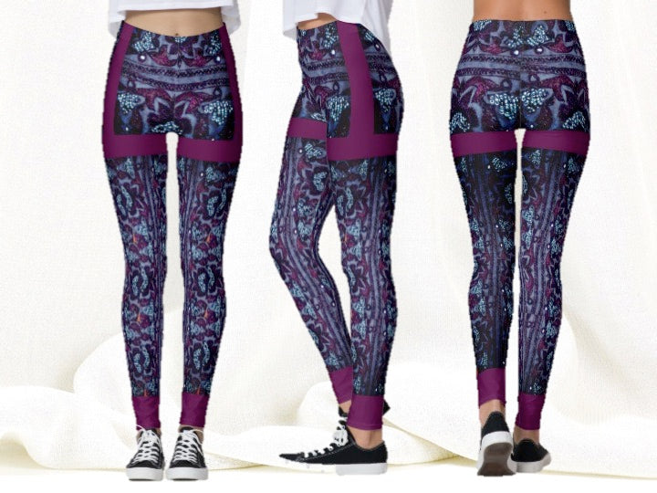 1270fd90c3bfd Indian yoga pants or yoga leggings. Active wear tights or gym ...