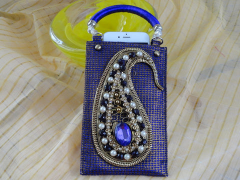 Petite bollywood purse handbag from India1
