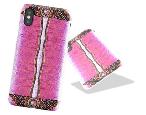 iPhone 8  case. Sequins & Stones design iPhone X case or cover. Tough Shield cover case for iPhone 7, 6. From Artkrti.