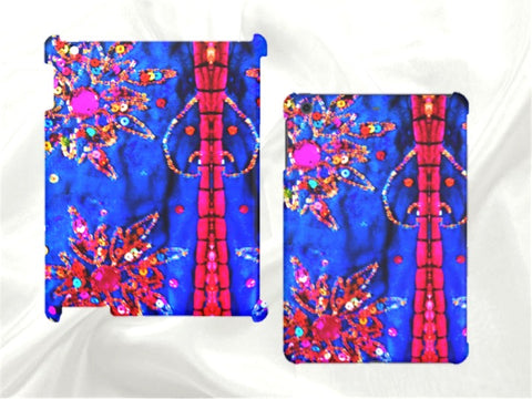 Apple iPad and iPad Mini case or sleeve. Women's, ethnic, arty, Indian design. From Artkrti.