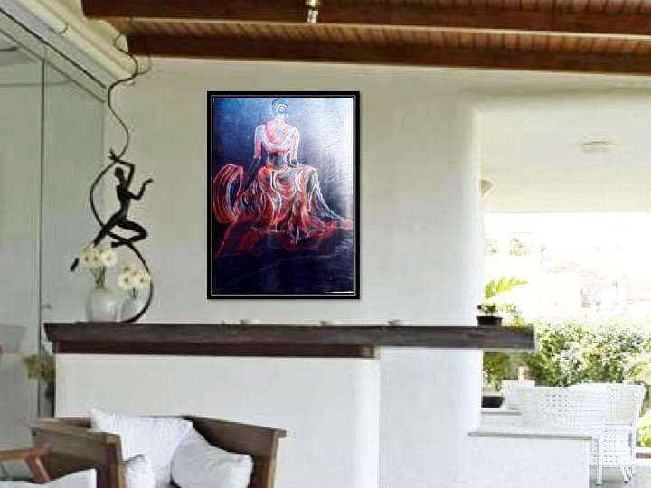 . Home decor painting poster  Classy Wall Art  Living room Painting Poster   Indian