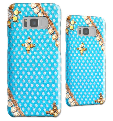 Samsung Galaxy cover, case. Indian, ethnic design Samsung Galaxy S8 case or cover. Tough Shield cover case for Samsung phones S7, S6, Edge. From Artkrti.