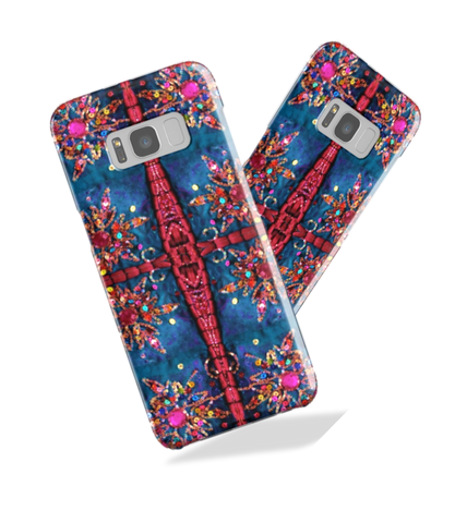 Samsung Galaxy S8 phone case. Ethnic, Indian design. Tough Shield cover case for Samsung phones S7, S6, Edge. From Artkrti.