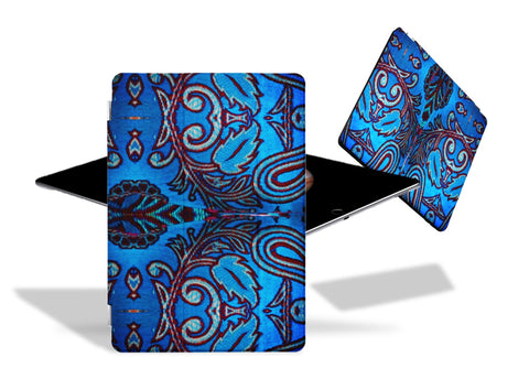 "Apple tablet artistic case or cover with stand- iPad, iPad Pro- turquoise red for girls. ""Kalavati"". From Artikrti"