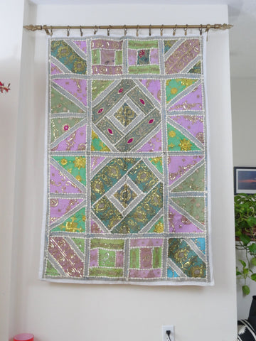 How To Hang Fabric On Walls indian tapestry wall hanging. fabric wall tapestry. jade 'n ivory