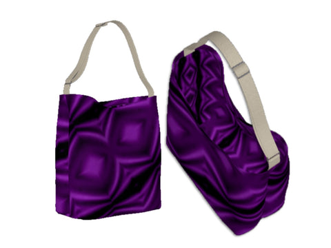 Work tote for women. Three cool styles- origami tote, day tote & basic tote. Purple. Artikrti